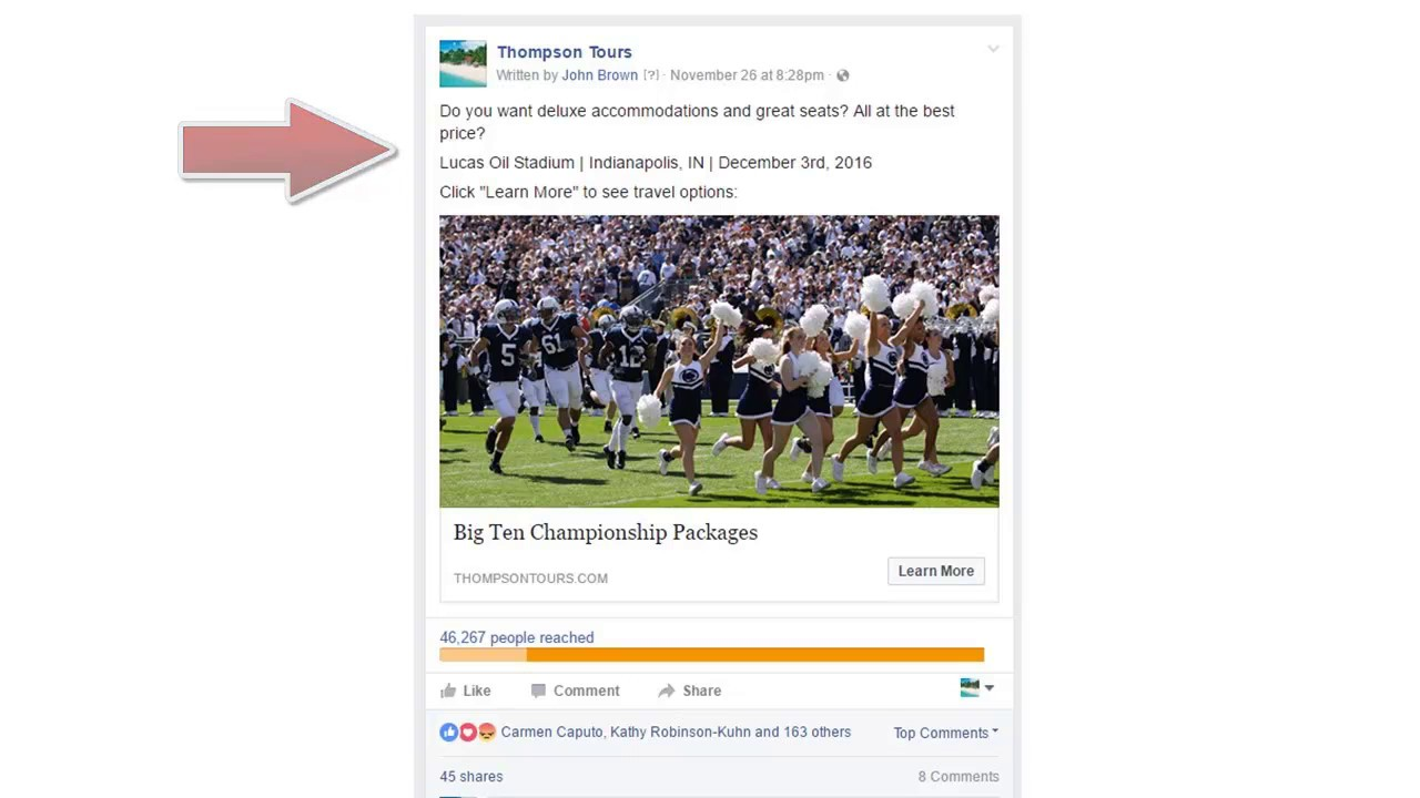 Facebook Advertising Case Study Penn State  YouTube Maxresdefault Watch?vSObBq