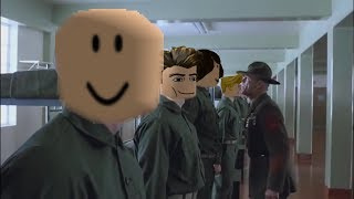 When you join a ROBLOX millitary group