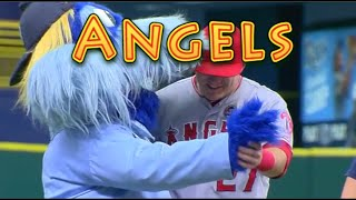 Los Angeles Angels: Funny Baseball Bloopers
