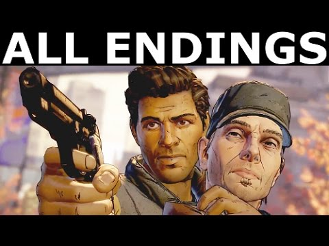 The Walking Dead Episode 4 ALL ENDINGS - Save Tripp Or Save Ava, Shoot Joan Or Take Clint's Deal