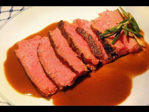 how to make eye of round steak