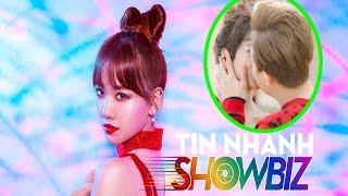 """Tin nhanh Showbiz - TRẤN THÀNH """"nhiệt tình"""" hôn HARI WON trong MV mới"""