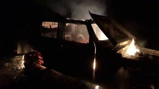 My Jeep JKU is on fire right now! - LIVE