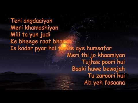 02   Iss Qadar Pyar Hai lyricsankit tiwari