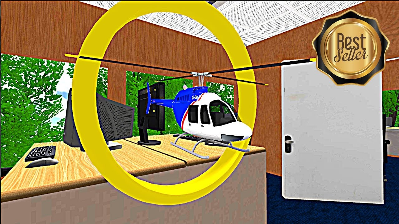 RC Helicopter Simulator - 3D realistic office working ...