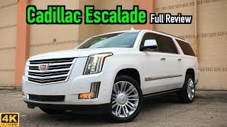 2019 Cadillac Escalade ESV: FULL REVIEW + DRIVE | 19-Feet of Pure Opulence!