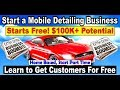 Mobile Detailing Business Opportunity