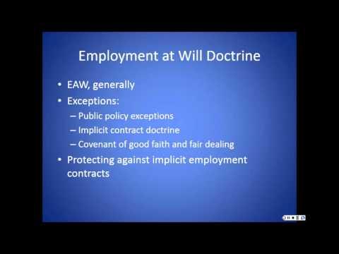 EMPLOYMENT LAW PRESENTATION