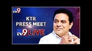 TRS Working President KTR Meet The Press LIVE || Somajiguda - TV9