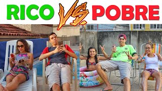 rico vs pobre kids fun