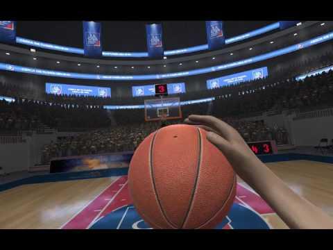 Juego de Realidad Virtual de Basketball