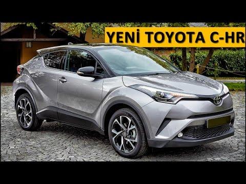 Yeni Toyota CHR / C-HR 2016 test sürüşü - yorum - inceleme
