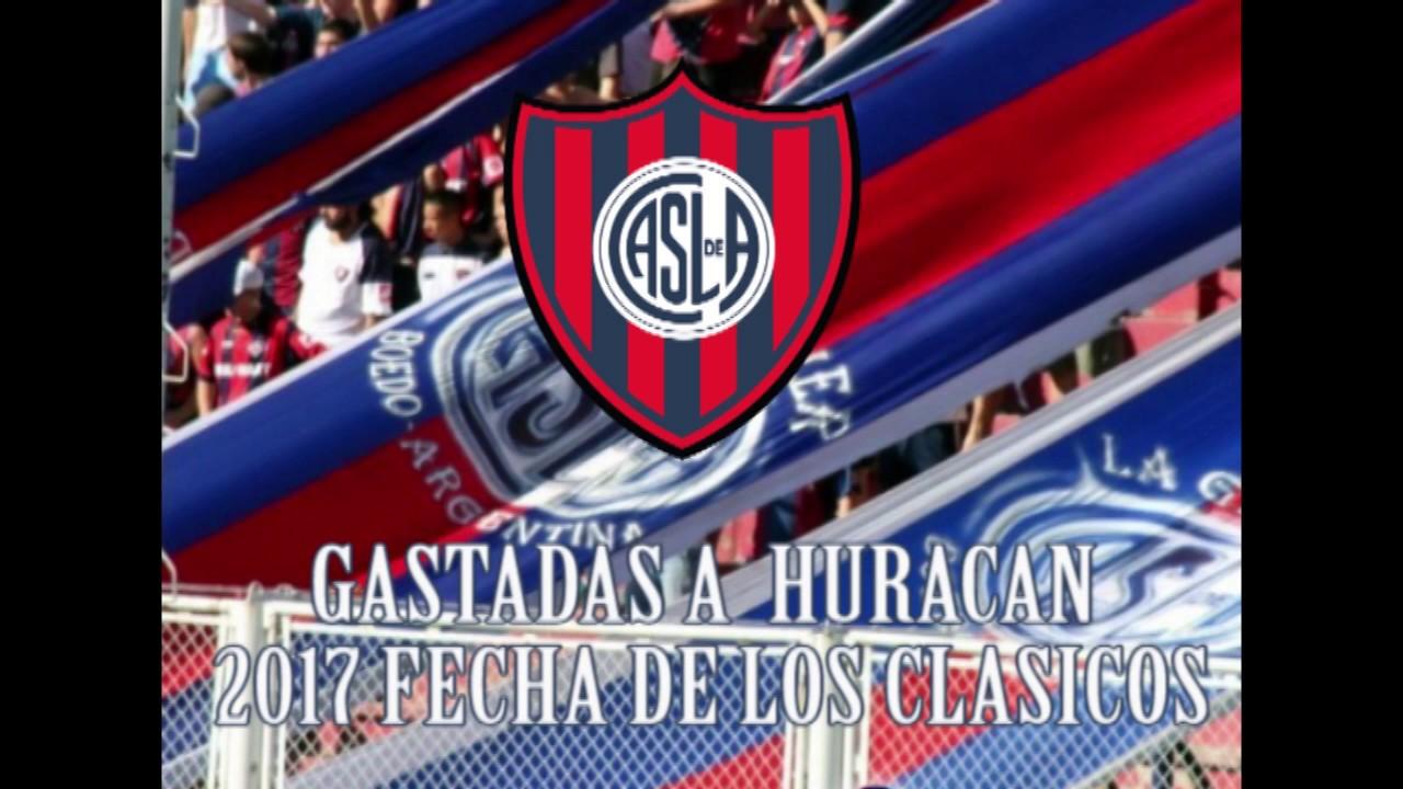 San Lorenzo Tema nuevo y gastadas a Huracan 2017 Huracan 0-1 San Lorenzo - YouTube