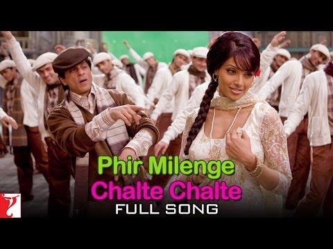 Phir Milenge Chalte Chalte - Full Song | Rab Ne Bana Di Jodi | Shah Rukh Khan | Sonu Nigam