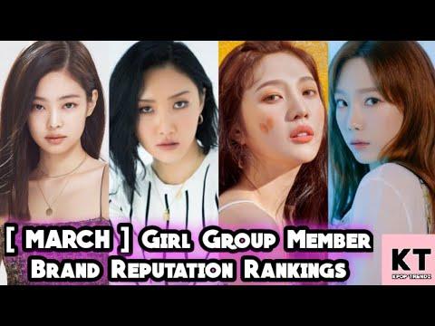 [ MARCH 2020 ] GIRL GROUP MEMBER BRAND REPUTATION RANKINGS