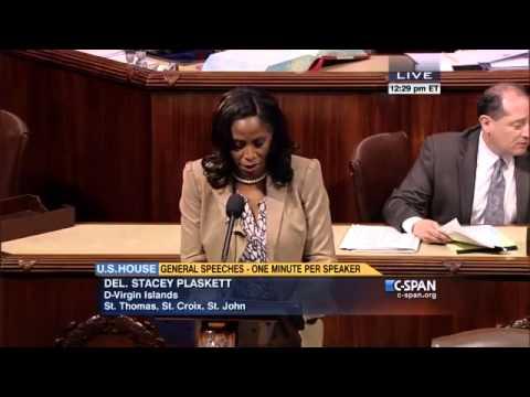Plaskett congratulates Virgin Islands graduates on U.S. House Floor