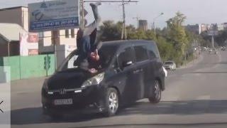 Аварии с пешеходами на видеорегистратор 2015