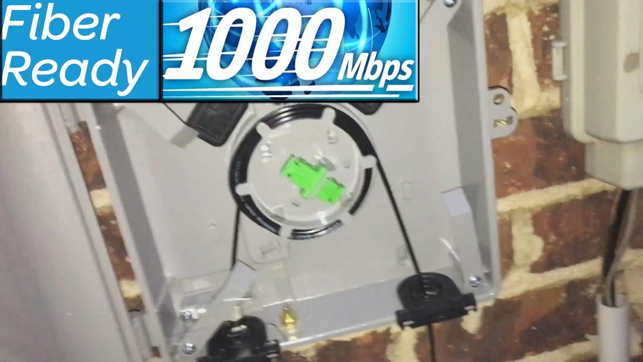 AT&T Gigabit Fiber Internet - Underground Fiber Installation ...