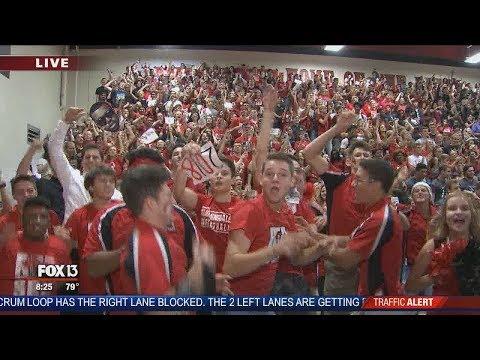 FOX 13 Pep Rally: Bloomingdale High School