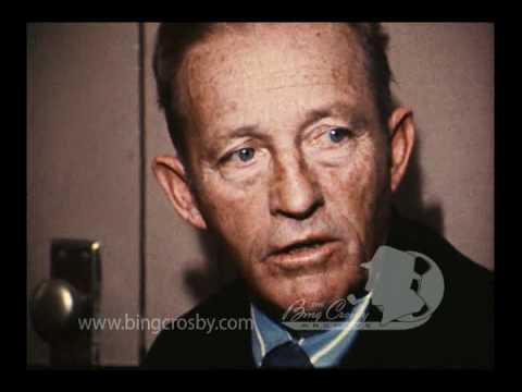 Bing crosby family interview 1970s kcra tv youtube