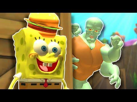 HIDING IN BIKINI BOTTOM! - Garry's Mod Gameplay - Gmod SpongeBob Prop Hunt