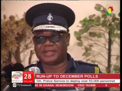 Police service to deploy over 53,000 personal for 2016 polls -8/11/2016