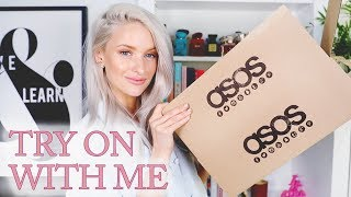 HUGE ASOS UNBOXING, HAUL AND TRY ON FOR SPRING