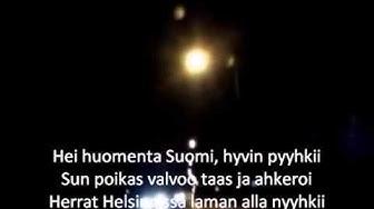 Matti Esko - Hyvää huomenta Suomi (sanat)