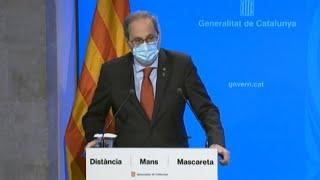 Torra rechaza la decisión judicial y pide acatar el confinamiento en Lleida