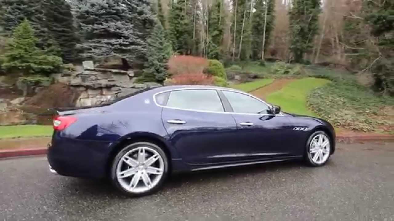 2015 Maserati Quattroporte >> 2015 Maserati Quattroporte S Q4 | Blu Passione | F1142119 ...