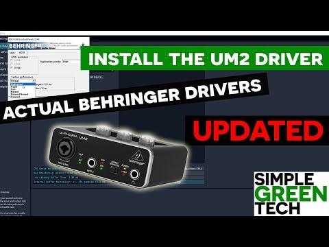 Behringer UM2 Setup Driver On Windows 10 [UPDATED]