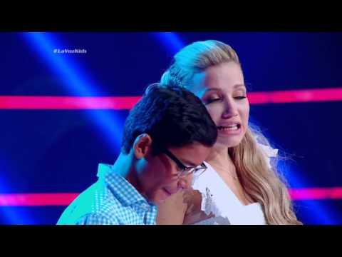 Andrés Rafael cantó Así fue mi querer de G. Gutiérrez – LVK Col – Audiciones a ciegas – Cap 10 – T2