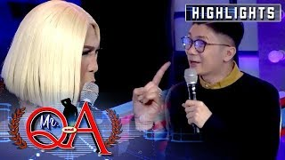 Vice becomes suspicious of Vhong's banters about him | It's Showtime Mr. Q and A