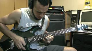 Liquid Tension Experiment - Kindred Spirits - Guitar Solo - Thiago Campos - Mark IV