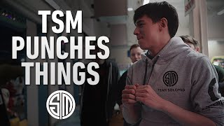 TSM Punches Things