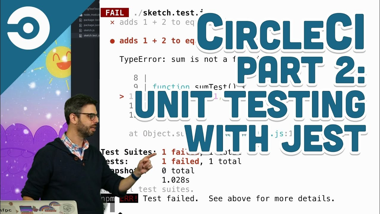 CircleCI Part 2: Unit Testing with Jest