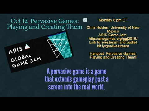 Pervasive Games: Using and Creating