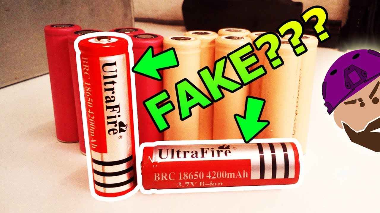 HOW TO: Spot FAKE 18650 Lithium Ion Batteries!