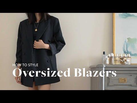 How to Style Oversized Blazers: 20 Blazer Outfit Ideas (Lookbook)