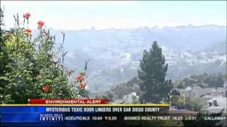 Rotten Egg/Sulphur/Gas smell wreaks havoc across Southern California (Sept 11, 2012)