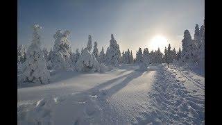 Сказочный зимний лес! Уральские горы. Откликной гребень, Таганай!
