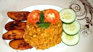 Have you tasted it... Ripe plantain and porridge beans