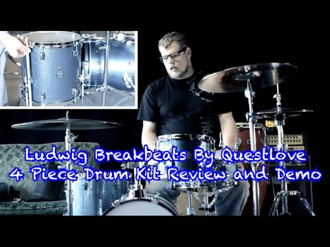 ludwig breakbeats by questlove drum set demo and review youtube. Black Bedroom Furniture Sets. Home Design Ideas