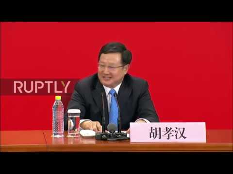 China: Beijing vows to take 'bigger role' in world peace ahead of National Congress