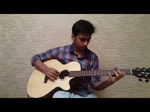 Neele Neele Ambar Par Guitar Instrumental with TABS and ORIGINAL SOLOS - Kalakaar