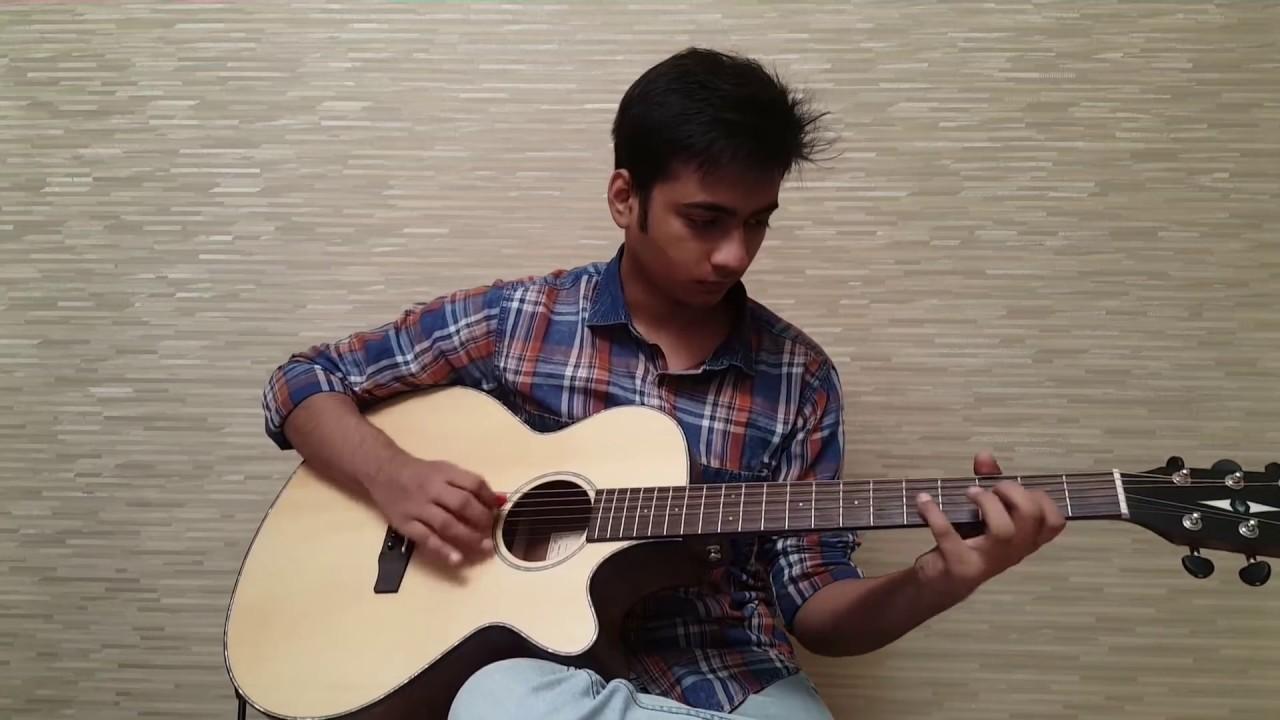 Learn to play neele ambar par on guitar