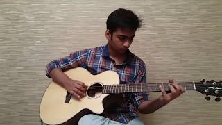 Neele Neele Ambar Par Guitar Instrumental with TABS and ORIGINAL SOLOS - Kalakaar