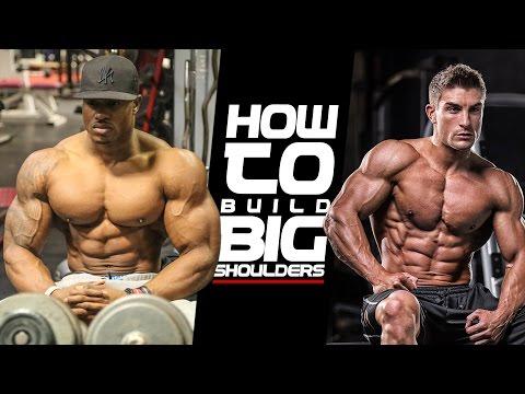 HOW TO BUILD BIG SHOULDERS with Simeon Panda & Ryan Terry