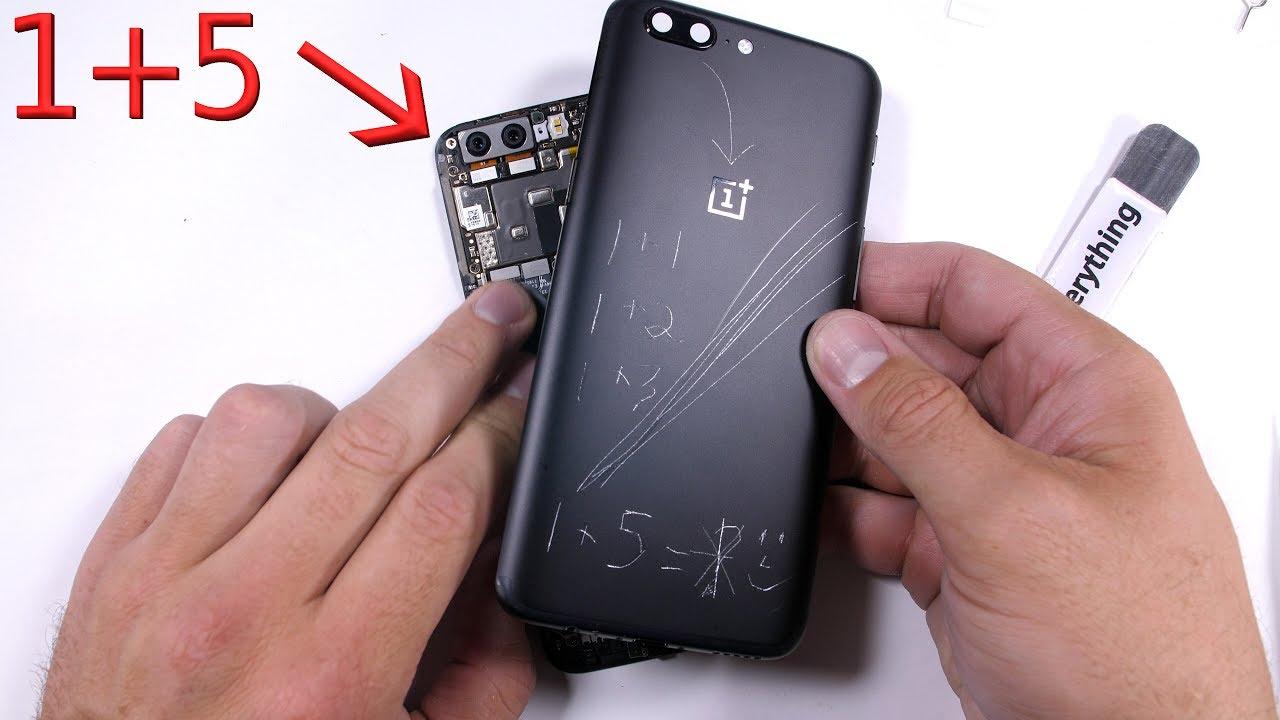 Oneplus 5 Teardown Screen Repair Battery Replacement