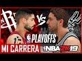 NBA 2K19 MI CARRERA PLAYOFFS - SEMIFINALES CONFERENCIA - AIRCRISS #55